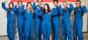Öğretmenleri uzaya çıkaran program