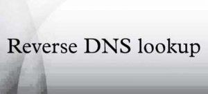 Reverse DNS Nedir?