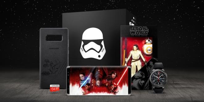 """Samsung'dan Özel """"Star Wars: Son Jedi"""" Koleksiyonu"""
