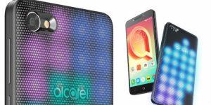 Dünyanın İlk LED Kapaklı Telefonu: Alcatel A5 LED