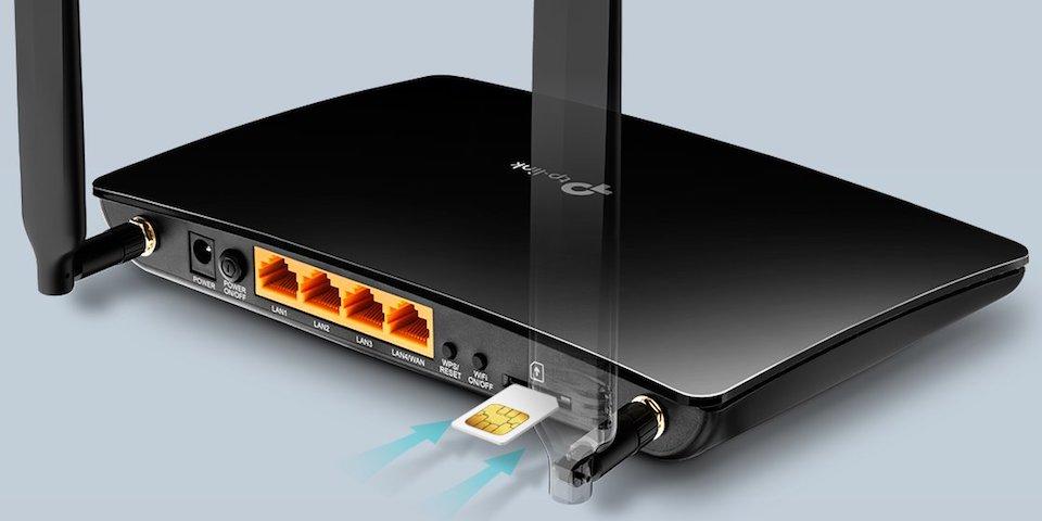 SIM Kartı Tak, İnterneti Paylaş: Archer MR400