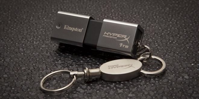 Kingston'dan Dünyanın En Yüksek Kapasiteli USB Belleği [CES ÖZEL]