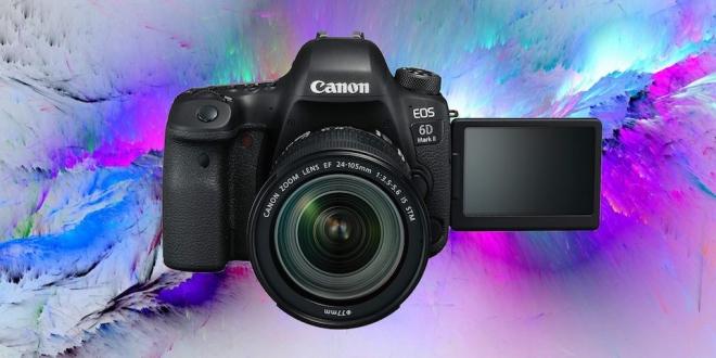 Dünyanın En Hafif Full Frame DSLR'ı Tanıtıldı: EOS 6D Mark II
