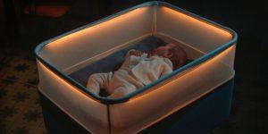 Arabada Uyumayı Seven Bebekler İçin Ford'dan Akıllı Beşik