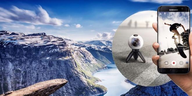 360 Derece Kamerada 4K Çözünürlük: Samsung Gear 360