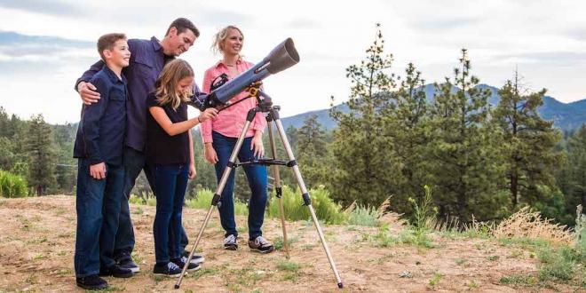 Celestron'dan Uzay Kaşifi Yeni Teleskop: Inspire 80 AZ