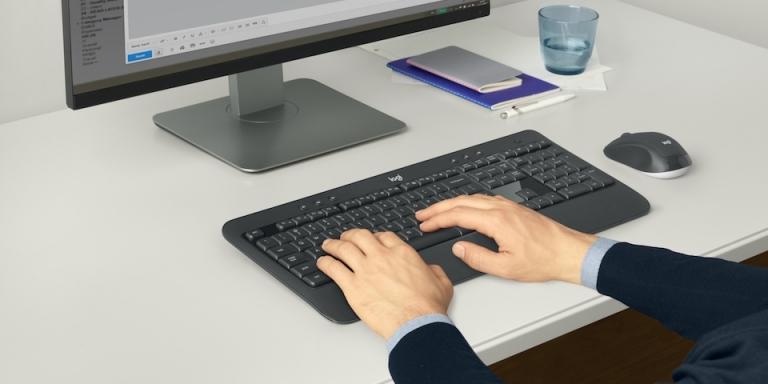 Rahat Kablosuz Klavye ve Fare Seti: MK540 Advanced