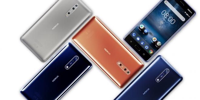 Nokia'nın Yeni Efsane Adayı Nokia 8 Türkiye'de