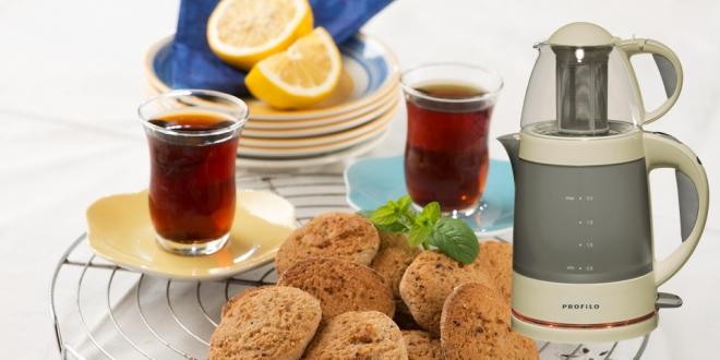 Tiryakiler İçin Pratik Kullanımlı Çay Makinesi: Profilo CM22007