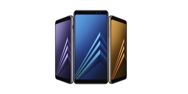 Samsung Galaxy A8 ve A8+ Çift Ön Kamera ve Sonsuz Ekranla Geliyor!