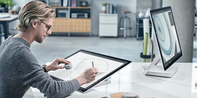 Microsoft'tan Büyüleyici Bilgisayar: Surface Studio promegaweb izmir web tasarım