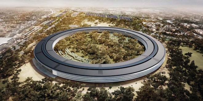Apple'ın Yeni Kampüsü Apple Park Nisan'da Açılıyor