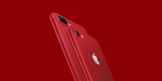 iPhone 7'nin Kırmızı Versiyonu Çıktı!