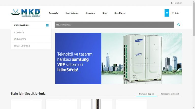 www.izmirklimamarketi.com