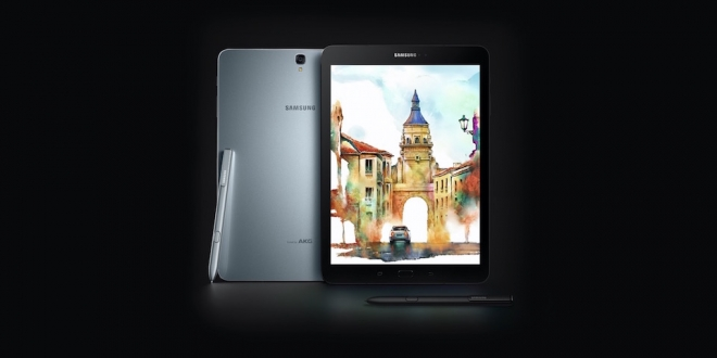 Samsung'dan İki Yeni Tablet: Galaxy Tab S3 ve Galaxy Book