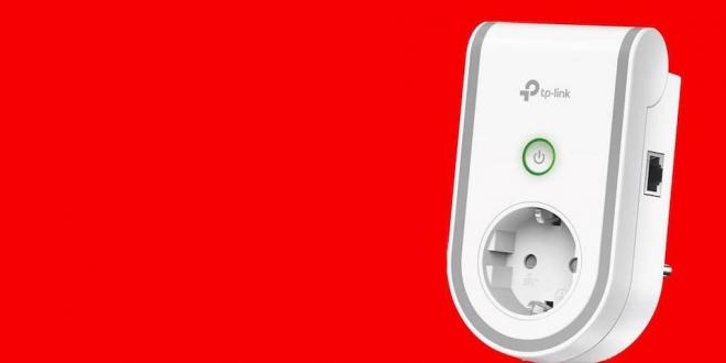 Hem Akıllı Priz Hem Wi-Fi Menzil Genişletici: TP-Link RE270K
