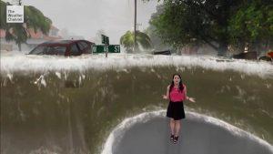 Florence kasırgasını 'artırılmış gerçeklik' ile anlattı promegaweb izmir web tasarım