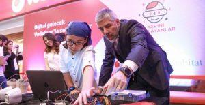 Vodafone 30 ilde 10 bin çocuğa kodlama öğretecek promegaweb izmir web sitesi tasarımı
