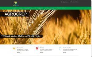 izmir kurumsal web tasarım agrocrop