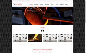 izmir web tasarım benzeşik metal döküm
