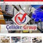 izmir web tasarım ve kurumsal e-mail hosting çelikler group lojistik