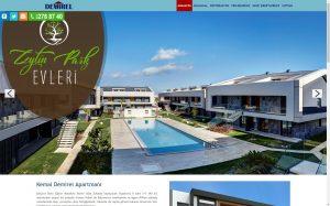 izmir web site tasarımı demirel inşaat