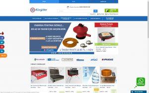 izmir kurumsal web sitesi ve e-ticaret sitesi düzgider