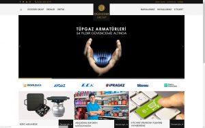 izmir kurumsal web sitesi ve e-ticaret sitesi düzgider group