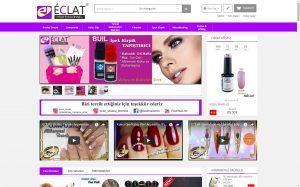 izmir kurumsal web sitesi ve e-ticaret sitesi eclat