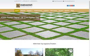 izmir yönetim panelli kurumsal web sayfası emirhan yapı
