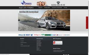 izmir web sitesi tasarım referansı forbes sigorta