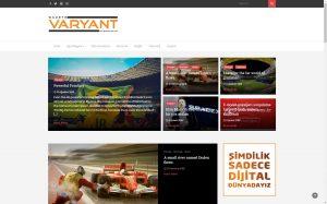 izmir kurumsal web site barındırma hizmeti gazete varyant