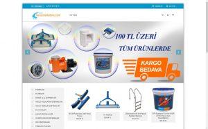 izmir kurumsal web sitesi ve e-ticaret sitesi havuz marketiniz