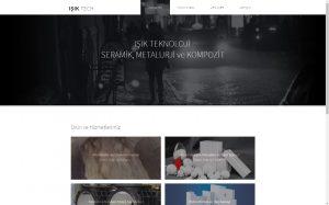 izmir web site tasarımı ve sunucu barındırma hizmeti isiktech