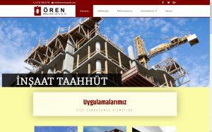 izmir kurumsal web tasarım ören mimarlık