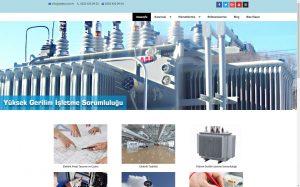 izmir yönetim panelli kurumsal web sitesi septa elektrik
