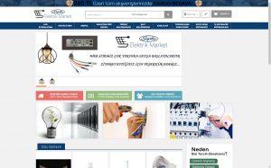 izmir kurumsal web sitesi ve e-ticaret sitesi septa elektrik market