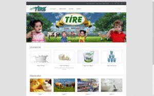 izmir kurumsal web tasarım yeşiltire süt ürünleri