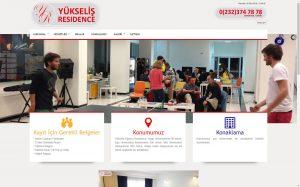 izmir web site tasarımı ve web site barındırma yükseliş residence