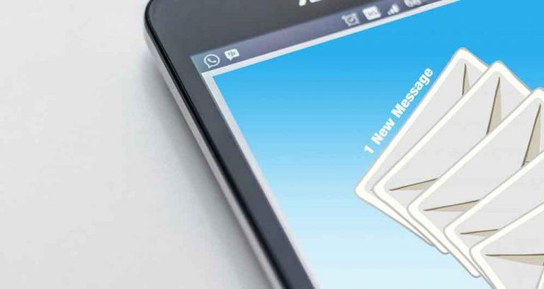 Cep telefonu whatsapp email iletişim mesaj