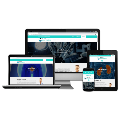 izmirde yönetim panelli doktor web sitesi tasarım firması